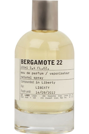 Парфюм Bergamote 22 Le Labo для мужчин и женщин