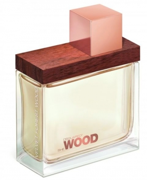 She Wood Velvet Forest Wood DSQUARED² για γυναίκες