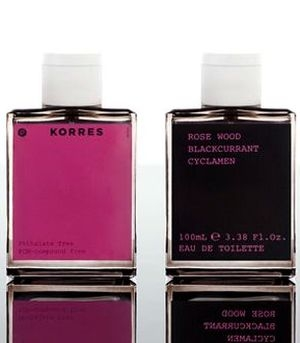 Rose Wood Blackcurrant Cyclamen Korres für Frauen