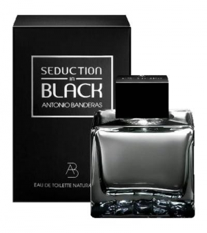 Seduction in Black Antonio Banderas for men