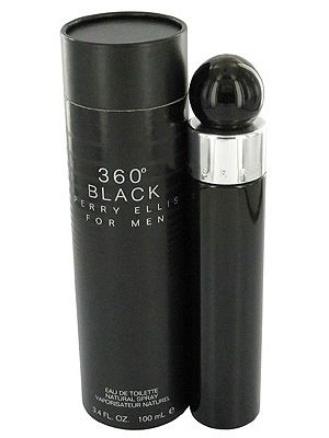 360° Black for Men Perry Ellis for men