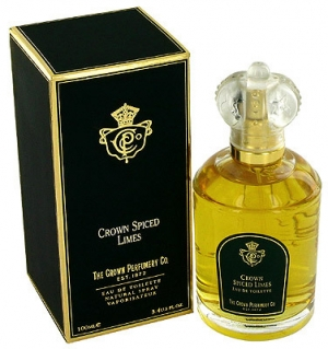 Crown Spiced Limes The Crown Perfumery Co. de barbati