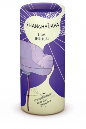 ShanghaiJava Lilas Spiritual Crazylibellule and the Poppies für Frauen