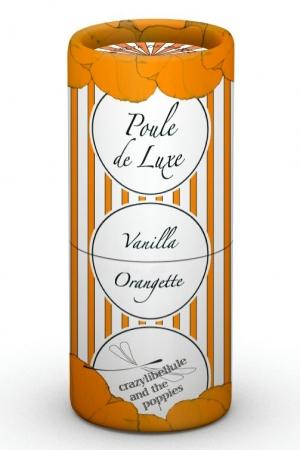 Poule de Luxe Vanilla Orangette Crazylibellule and the Poppies für Frauen und Männer
