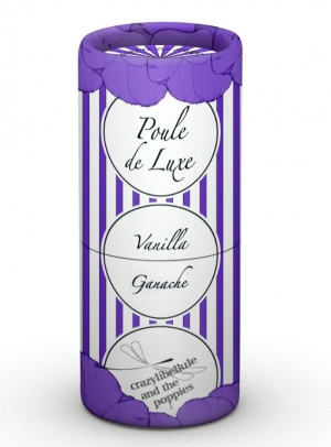 Poule de Luxe Vanilla Ganache Crazylibellule and the Poppies pour homme et femme