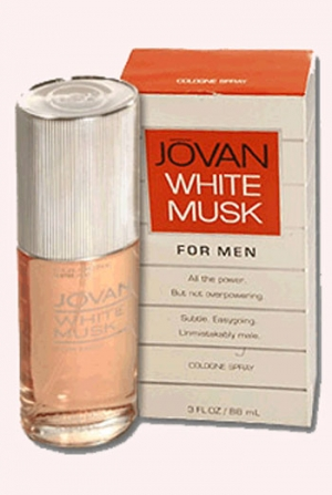 White Musk Jovan para Hombres