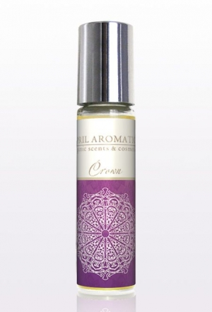 Crown Chakra Oil April Aromatics pour homme et femme