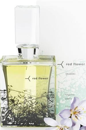 Guaiac Red Flower Organic Perfume pour femme