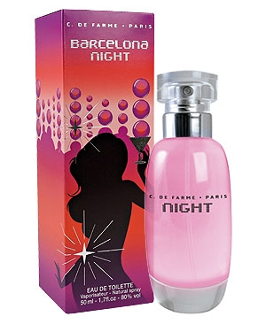Barcelona Night di Corine de Farme da donna