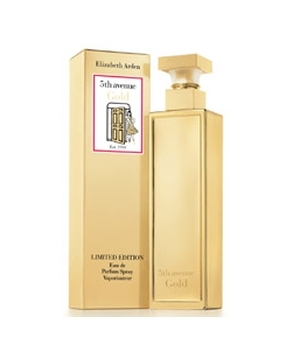 5th Avenue Gold Elizabeth Arden de dama