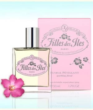 Floral Pettilant Filles des Iles de dama