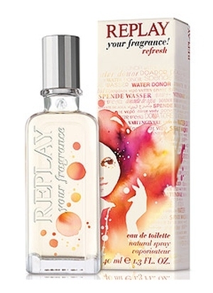 Replay Your Fragrance! Refresh for Her Replay de dama