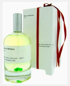 L'eau de parfum #3 Green, green and green Miller et Bertaux para Hombres y Mujeres