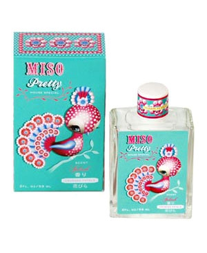 Miso Pretty Crushed Petals Blue Q für Frauen