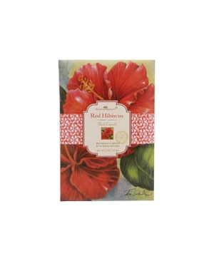 Red Hibiscus Aloha Beauty de dama