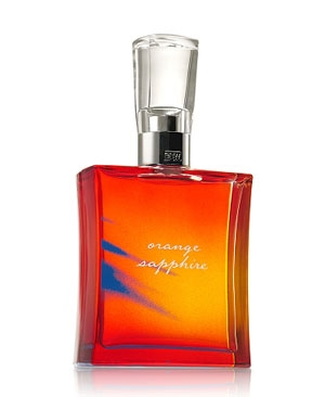 Orange Sapphire Bath and Body Works de dama