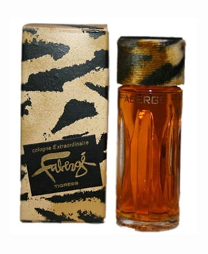 Faberge Tigress Brut Parfums Prestige for women