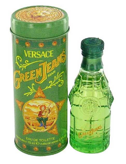 Green Jeans Versace de barbati
