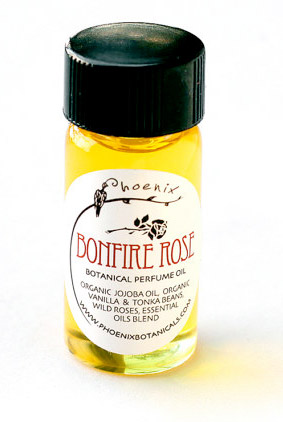 Bonfire Rose Phoenix Botanicals for women and men