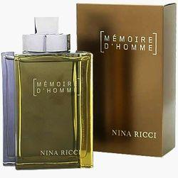 Memoire D'homme Nina Ricci Masculino
