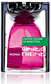 Benetton White Night Woman Benetton pour femme