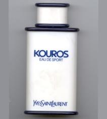 Kouros Eau de Sport Yves Saint Laurent للرجال