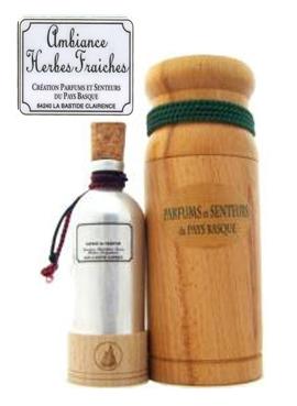Fresh herbs (Herbes Fraiches) Parfums et Senteurs du Pays Basque unisex