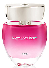 rose mercedes benz perfume a new fragrance for women 2015. Black Bedroom Furniture Sets. Home Design Ideas