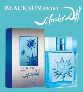 Black Sun Sport Salvador Dali dla mężczyzn