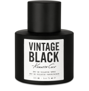 Kenneth Cole Vintage Black Kenneth Cole Masculino