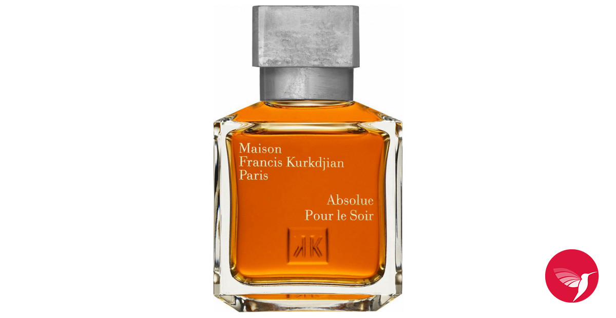 Absolue pour le soir maison francis kurkdjian perfume a for Absolue pour le soir maison francis kurkdjian
