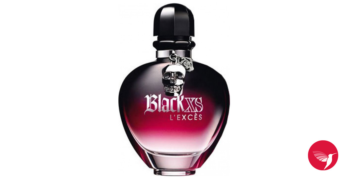 Black xs l 39 exces for her paco rabanne parfum ein es for Paco rabanne black rose
