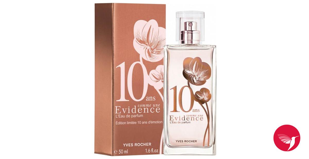 comme une evidence 10 ans yves rocher parfum un parfum pour femme 2013. Black Bedroom Furniture Sets. Home Design Ideas