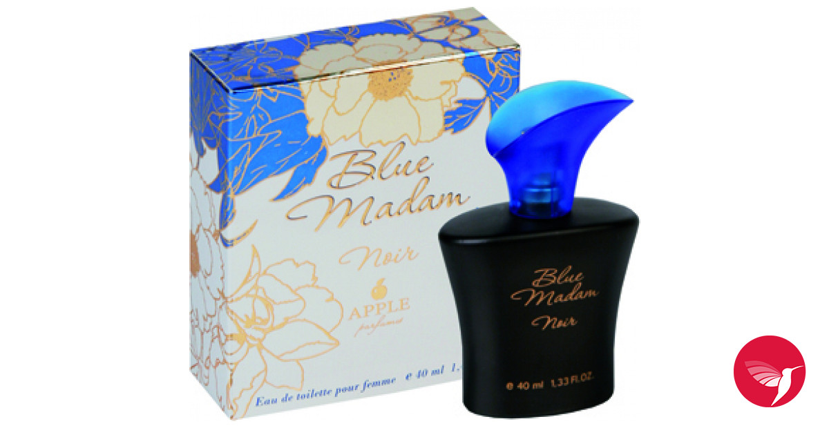 blue madam noir apple parfums parfum un parfum pour femme. Black Bedroom Furniture Sets. Home Design Ideas