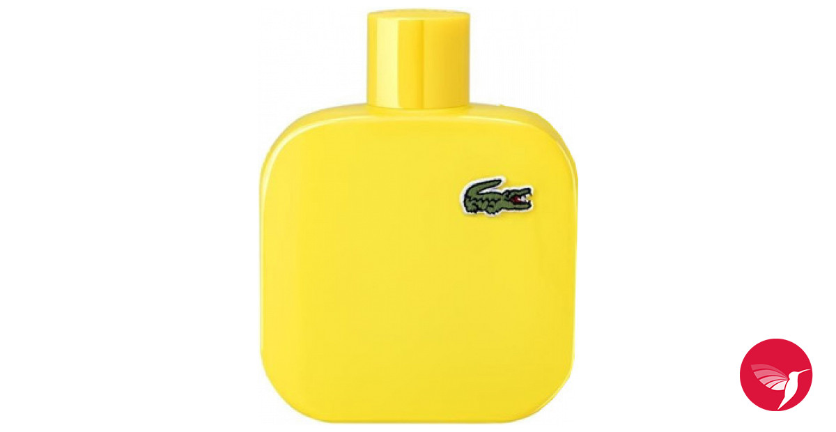 eau de lacoste yellow jaune lacoste fragrances. Black Bedroom Furniture Sets. Home Design Ideas