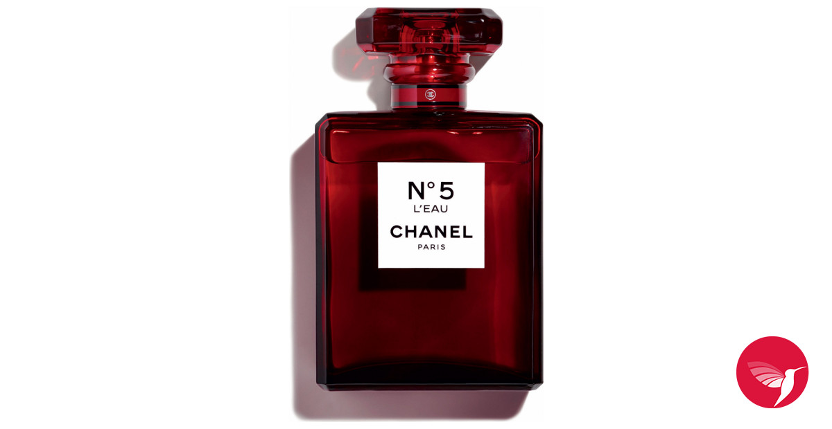 chanel no 5 l 39 eau red edition chanel perfume a new fragrance for women 2018. Black Bedroom Furniture Sets. Home Design Ideas