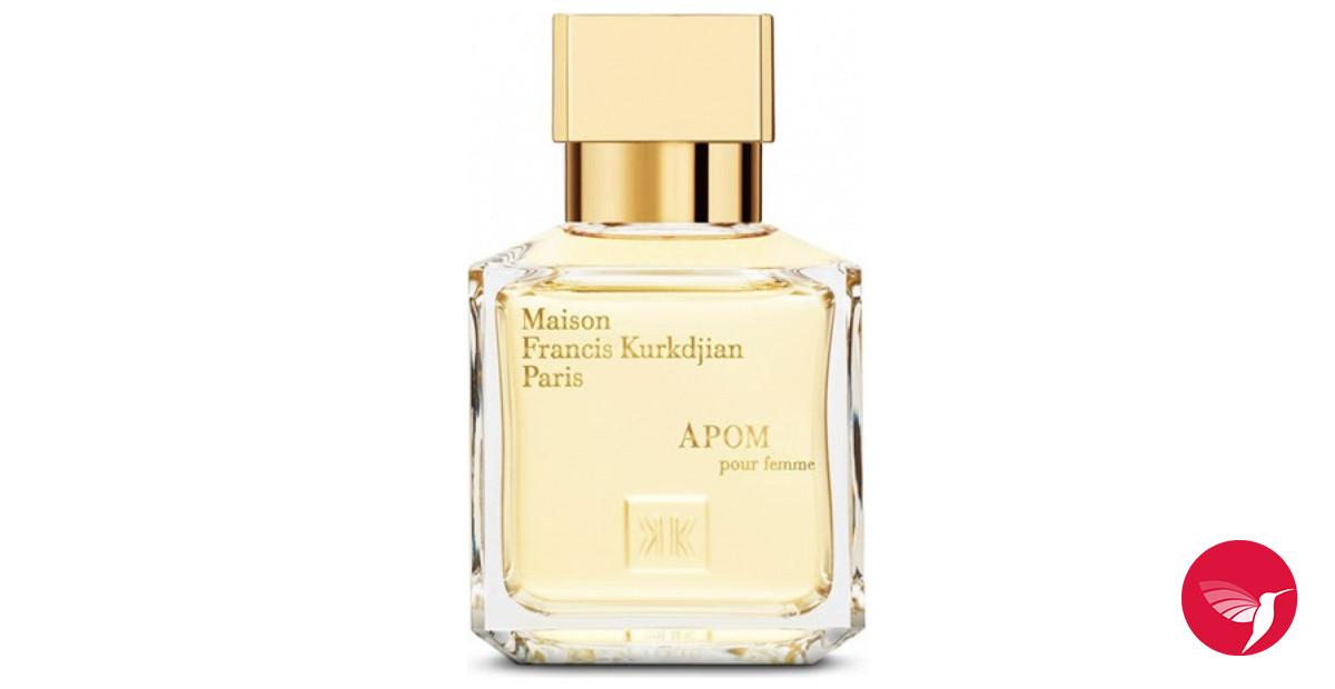 Apom pour femme maison francis kurkdjian perfume a for Apom pour homme maison francis kurkdjian