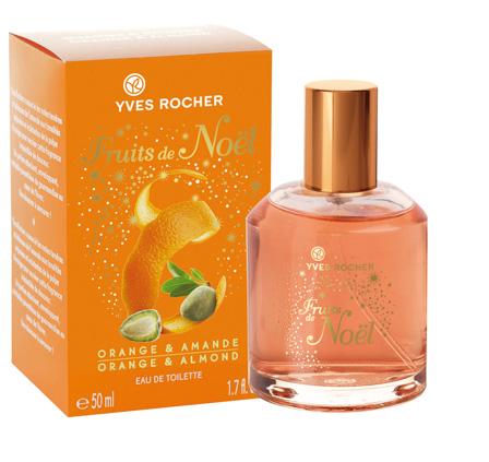 fruits de noel orange amande yves rocher parfum un parfum pour femme 2010. Black Bedroom Furniture Sets. Home Design Ideas