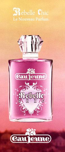 rebelle chic eau jeune parfum un parfum pour femme 2009. Black Bedroom Furniture Sets. Home Design Ideas