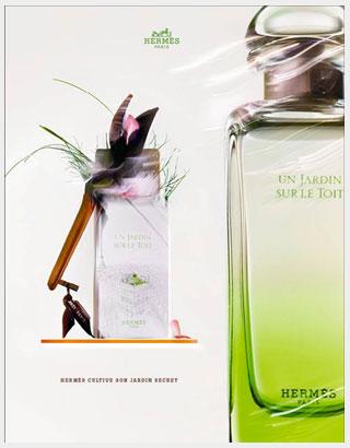 un jardin sur le toit herm s perfume a fragrance for women and men 2011. Black Bedroom Furniture Sets. Home Design Ideas