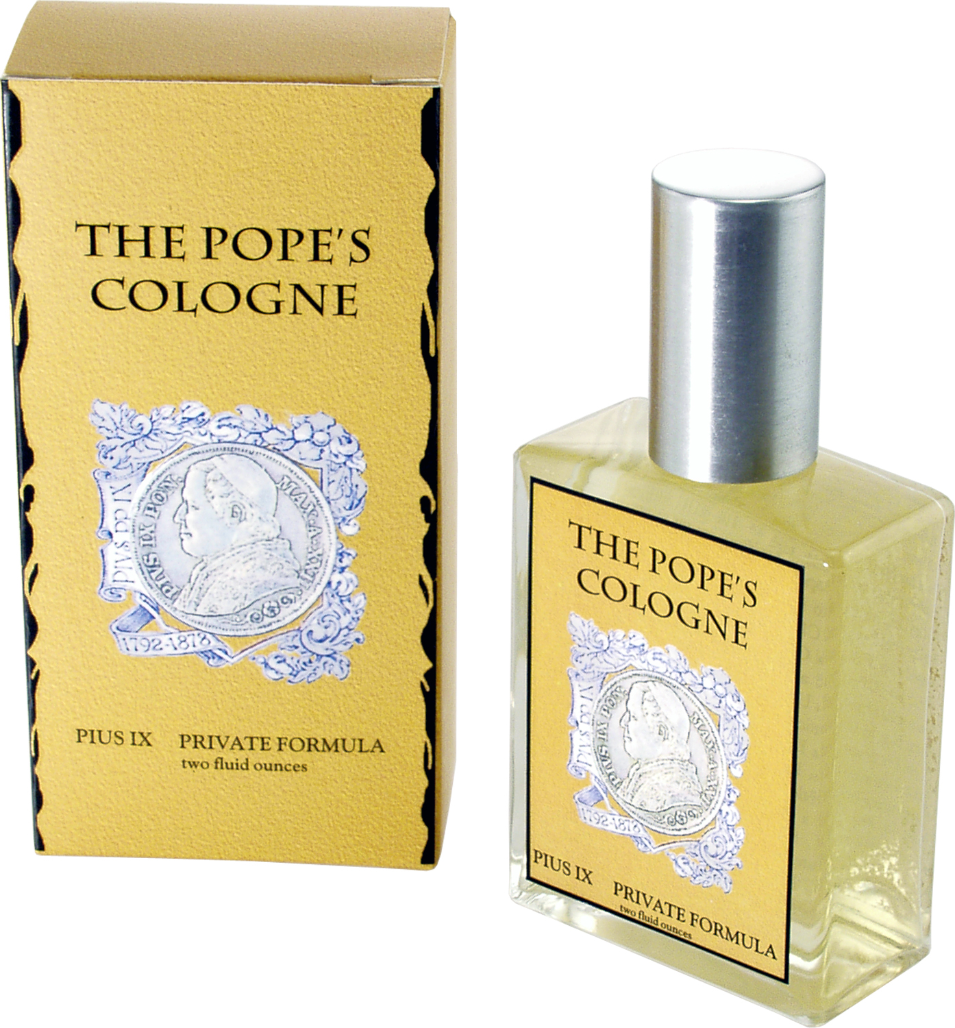 Image result for the pope's cologne