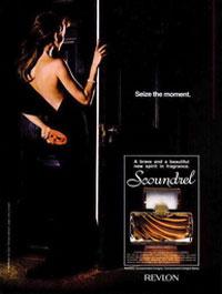 Scoundrel Revlon perfume - a fragrance for women 1980