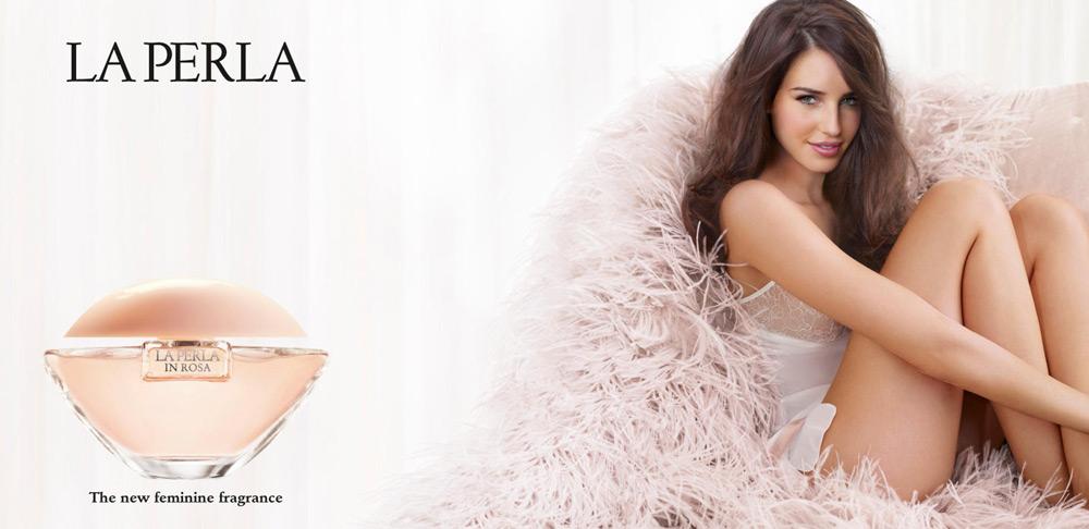 la perla in rosa la perla perfume una fragancia para mujeres 2012. Black Bedroom Furniture Sets. Home Design Ideas
