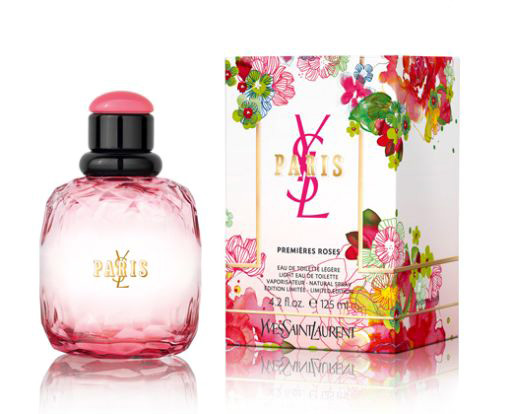 paris premieres roses 2012 yves saint laurent perfume a fragrance for women 2012. Black Bedroom Furniture Sets. Home Design Ideas