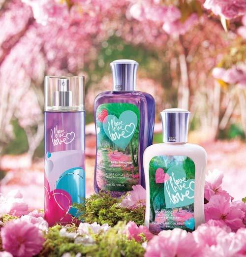 Love love love bath and body works perfume a fragrance for Where are bath and body works products made