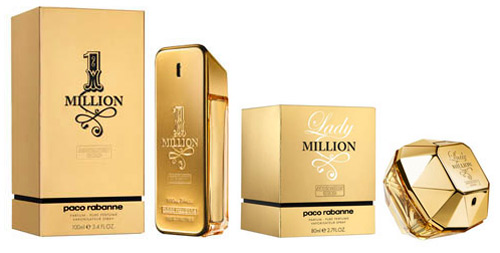 lady million absolutely gold paco rabanne perfume a. Black Bedroom Furniture Sets. Home Design Ideas