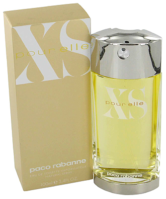 Xs pour elle paco rabanne perfume a fragrance for women 1994 for Paco rabanne cologne