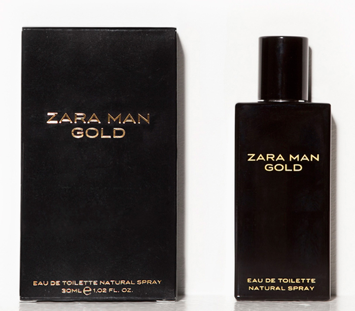Zara man gold zara cologne a fragrance for men - Prix parfum zara homme ...