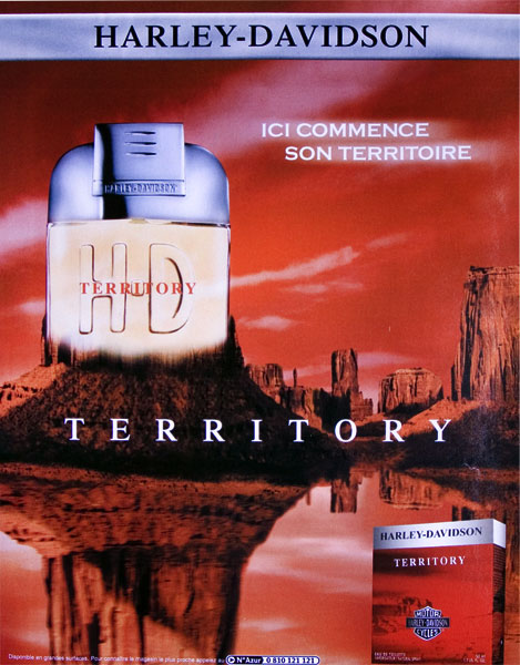 territory harley davidson cologne a fragrance for men 2002. Black Bedroom Furniture Sets. Home Design Ideas