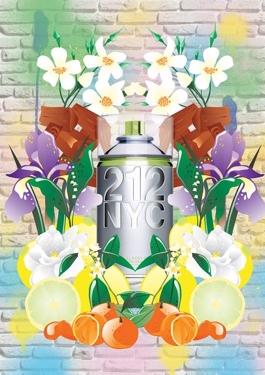 212 NYC Body Spray Carolina Herrera perfume - a fragrance